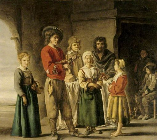 A Peasant Family   Louis Le Nain   Oil Painting