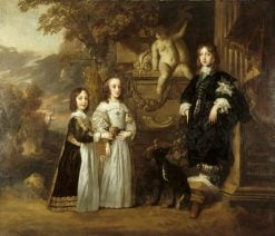 The Three Younger Children of Charles I | Peter Lely | Oil Painting