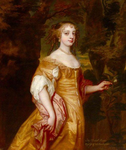 Called 'Lady Elizabeth Wriothesley