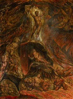 Satan Calling up His Legions (from John Milton's 'Paradise Lost') | William Blake | Oil Painting