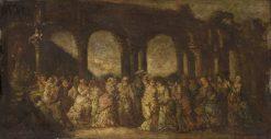 Masque | Adolphe Joseph Thomas Monticelli | Oil Painting