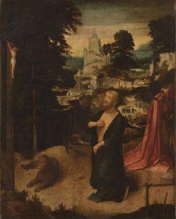 Penitent Saint Jerome   Adriaen Isenbrandt   Oil Painting