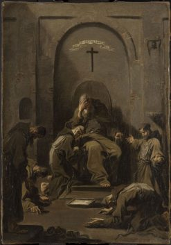 Contrition and Confession of Capuchin Friars | Alessandro Magnasco | Oil Painting
