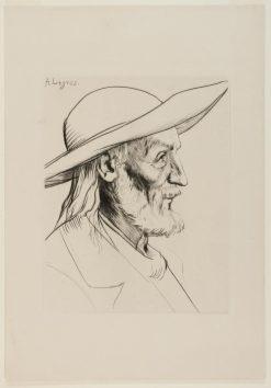 Breton Peasant | Alphonse Legros | Oil Painting