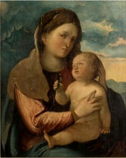 Virgin and Child | Altobello Melone | Oil Painting