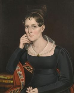 Portrait of Mrs. Warburton of Rockboro