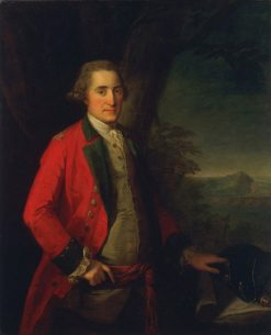 Lieutenant General James Cuninghame | Angelica Kauffmann | Oil Painting