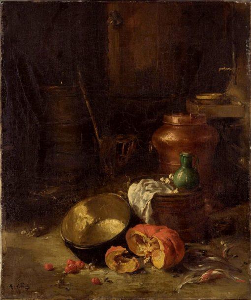 Still Life   Antoine Vollon   Oil Painting