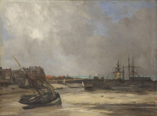 Le Tréport | Antoine Vollon | Oil Painting