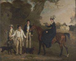 Portrait of the Weston Family | Benjamin Marshall | Oil Painting