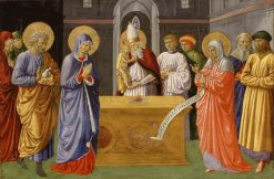 Purification of the Virgin | Benozzo Gozzoli | Oil Painting