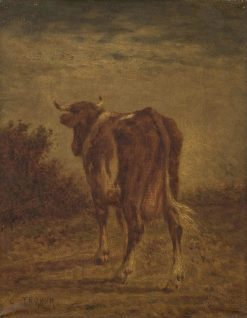A Cow | Constant Troyon | Oil Painting