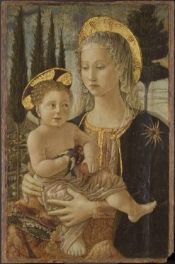 Virgin and Child | Cosimo Rosselli | Oil Painting