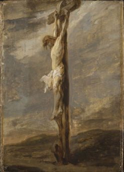 Christ on the Cross | Dutch School th Century   Unknown | Oil Painting