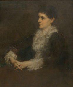Portrait of Mrs. Allan Shelden   Eastman Johnson   Oil Painting