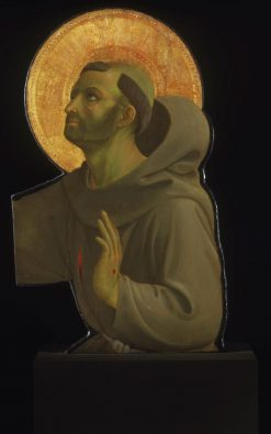 Saint Francis of Assisi | Fra Angelico | Oil Painting