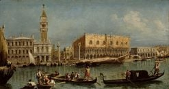 The Bacino of San Marco | Francesco Guardi | Oil Painting
