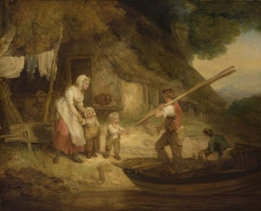 The Fisherman's Return | Francis Wheatley | Oil Painting