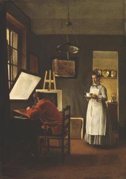 The Engraver | Francois Bonvin | Oil Painting