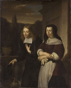 Portrait of a Husband and Wife | Frans van Mieris the Elder | Oil Painting