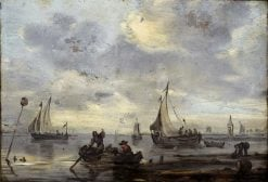 Zuider Zee | Gerard ter Borch the Elder | Oil Painting