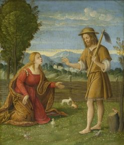 Christ as Gardener | Girolamo da Santa Croce | Oil Painting
