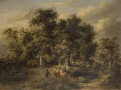 Landscape with Cattle | James Stark | Oil Painting