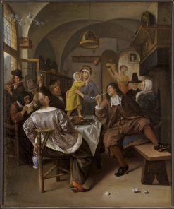 Merry Company | Jan Havicksz. Steen | Oil Painting