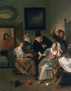 The Doctor's Visit | Jan Havicksz. Steen | Oil Painting