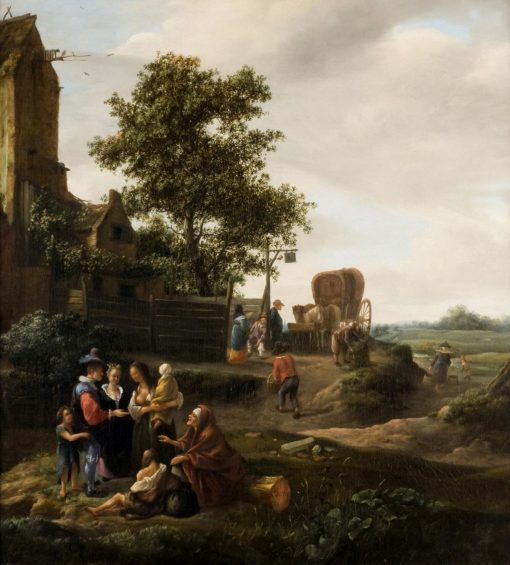 The Fortune Teller   Jan Havicksz. Steen   Oil Painting