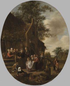 The May Queen | Jan Havicksz. Steen | Oil Painting
