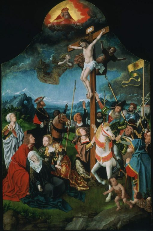 The Crucifixion | Jan Mostaert | Oil Painting