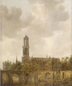 Cathedral of Utrecht | Jan van Goyen | Oil Painting