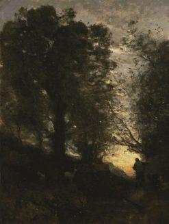 Goatherd of Terni   Jean Baptiste Camille Corot   Oil Painting