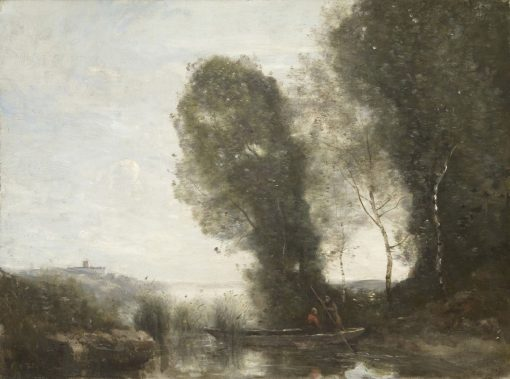 The Ferry | Jean Baptiste Camille Corot | Oil Painting