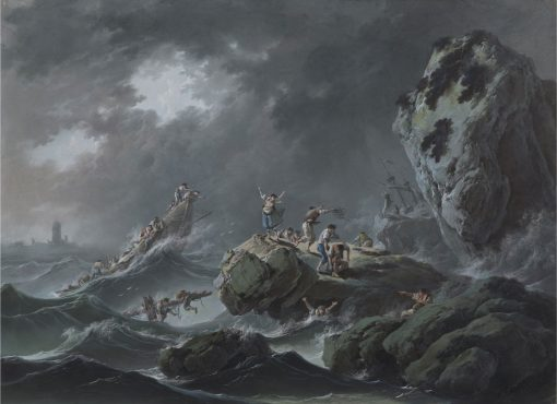A Shipwreck in a Storm | Jean Pillement | Oil Painting