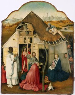 The Adoration of the Magi (copy) | Jheronimus Bosch | Oil Painting
