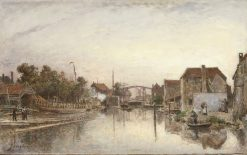 Canal | Johan Barthold Jongkind | Oil Painting