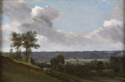 Hilly Landscape | John Constable | Oil Painting