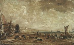 Sketch for 'Marine Parade and Chain Pier