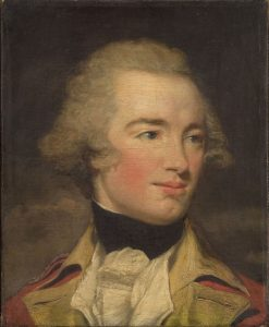 Portrait of an Officer   John Hoppner   Oil Painting