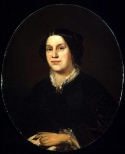 Portrait of Susan Hoffman Vaughan   John Neagle   Oil Painting