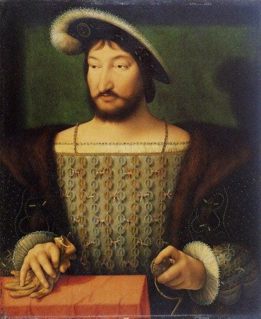 Francois I   Joos van Cleve   Oil Painting