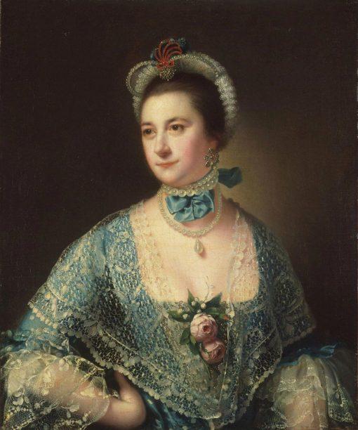 Portrait of Mrs Andrew Lindington | Joseph Wright of Derby | Oil Painting