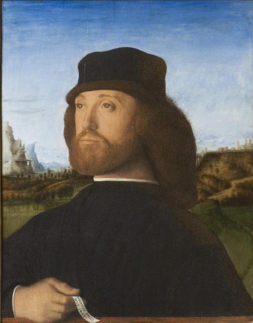 Portrait of a Gentleman | Marco Basaiti | Oil Painting