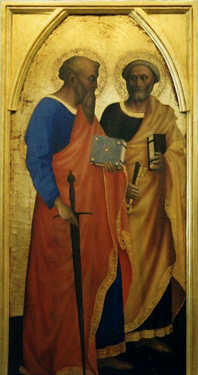 Saints Paul and Peter | Masolino da Panicale | Oil Painting