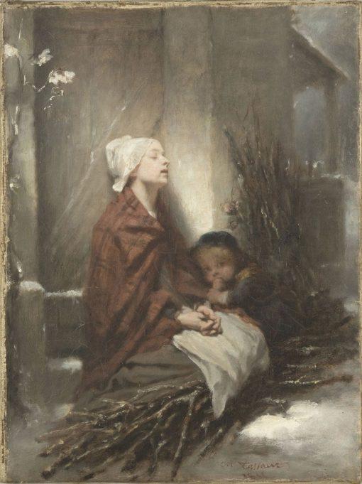 The Forlorn (Poor Children) | Octave Tassaert | Oil Painting