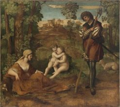 Allegory | Palma il Vecchio | Oil Painting