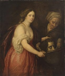 Diana with the Head of Holofernes   Pieter Claesz. Soutman   Oil Painting