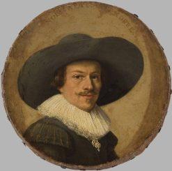 Portrait of a Man   Pieter Codde   Oil Painting